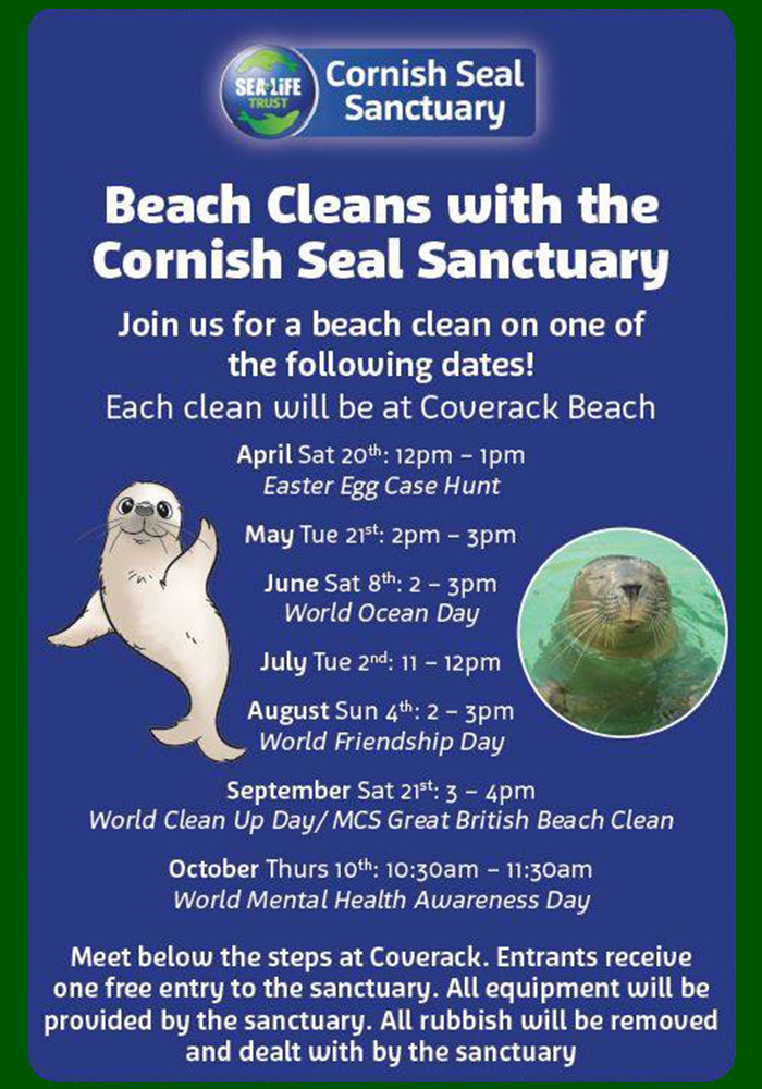 Beach clean dates for 2019