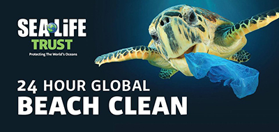 From Sunrise to Sunset - The SEA LIFE Trust launches first 24-Hour Global Beach Clean Event